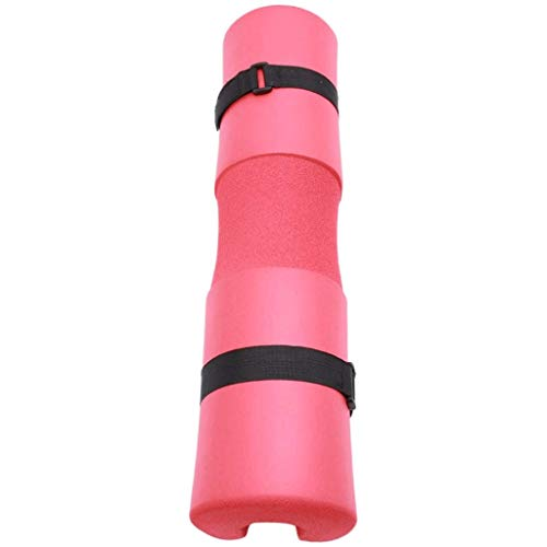 ZYLD Squat Protector Weightlifting Protector Squat Pad Barbell Pad for Squats, Lunges, and Hip Thrusts - Foam Sponge Pad - Provides Relief to Neck and Shoulders While Training (Color : Red)