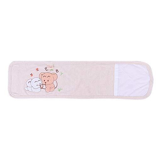 YOUTHINK Cinturón de Ombligo Recién Nacido Algodón Bebé Infantil Cordón Umbilical Banda de Vientre Cálido y Antipatadas Protección del Vientre del Bebé Cinturón de Soporte de Cintura del Cordón U