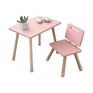 Facile da montare: il set di tavolo e sedia in legno KYWAI è estremamente facile da montare, basta ruotare le gambe al tavolo e alla sedia. Sicurezza dei bambini: pensato esclusivamente per i bambini, il tavolo e le sedie hanno tutti gli angoli arrot...