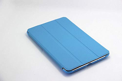 para Estuche para Lenovo Tab2 A7-30 Tab 2 A7 30 7 Pulgadas Soporte Ultrafino Funda de Cuero PU Slim Flip PC Hard Back Shell Tablet PC Skin-Azul
