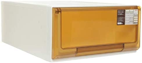 Citylife G-5115 BRW BEEGE 22L Single Tier Modular Drawer, 40 * 55 * 20.5cm, Brown