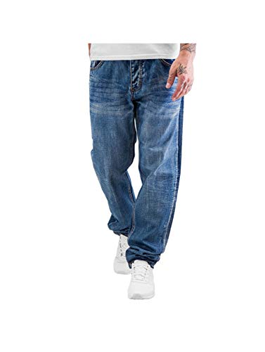 Rocawear Jeans Loose Tapered Fit Größe: 40 Farbe: Jersey was