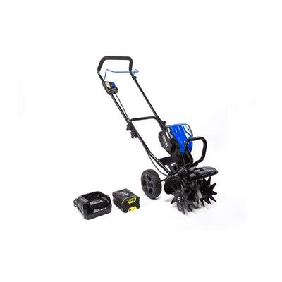 Kobalts 80-Volt Lithium Ion Forward-Rotating Cordless Electric Cultivator (2.0Ah Battery and Charger...