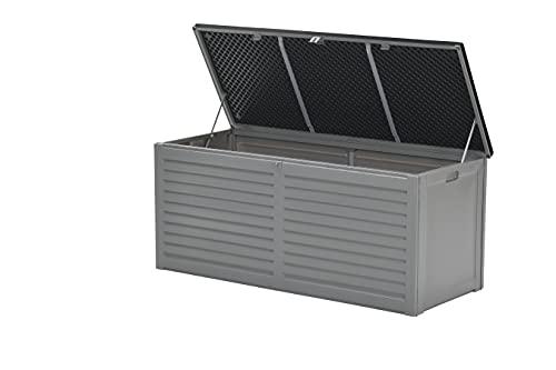 Garden Impressions Voll Kunststoff Aufbewahrungsbox Jersey 490 Liter mit Hubautomatik