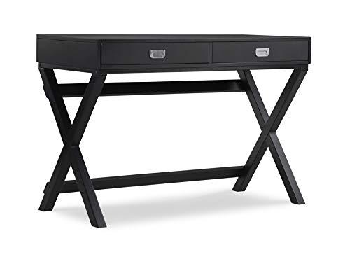 Linon Home Décor Jaycee Black Writing Desk