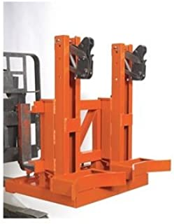 Wesco Industrial Products 240097 Gator Grip Dual Drum Fork Mount Drum Grab, 32