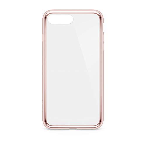Belkin F8W849btC00 SheerForce Elite beschermhoes voor iPhone 8/7 (Polycarbonaat, Drop Protection, Full Port Access), Zwart, iPhone 8/7 Plus, iPhone 8/7 Plus, roze