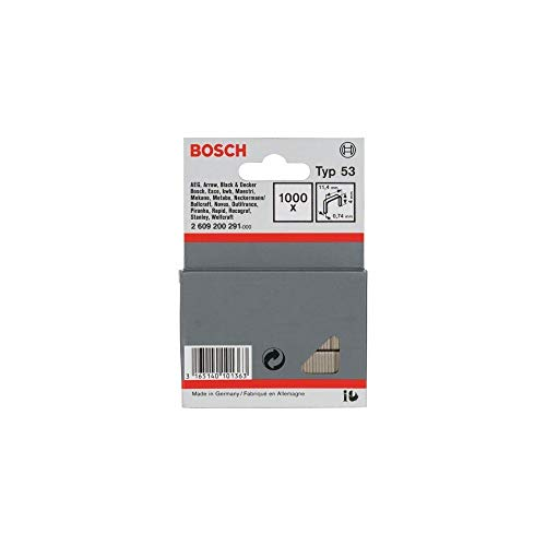 Bosch Professional 2609200291 1000 Tackerkla mmern 11,4/4  mm Typ 5