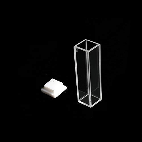 Azzota 10mm Pathlength Standard Fluorometer Cuvette, 3.5ml, Glass