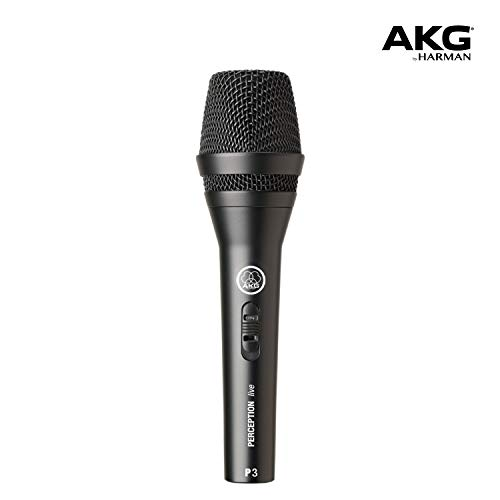 Microfone Dinâmico Akg P3s Perception