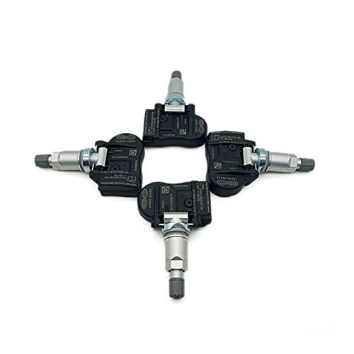 SSXPNJALQ Sensor de presión de Llantas TPMS de 4 Piezas 10-13 Ajuste para 52933-2M000 KIA Forte KOUP Soul Optima Sorento 2010 2011 2012 2013 529332m000