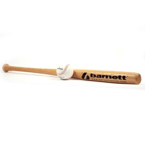 BARNETT BBWO-1 Baseball Set, Schläger & Ball, Senior, Holz, (BB-W 32, TS-1)