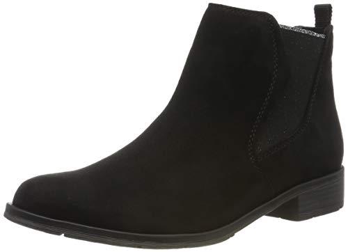 MARCO TOZZI Damen 2-2-25321-33 Chelsea Boots, Schwarz (Black 001), 38 EU