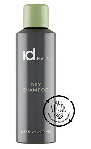 IdHair - Dry Shampoo - Trockenshampoo mit Volumeneffekt - Geeignet für alle Haartypen und Farben - Vegan - Frei von Parabenen und Sulfat - 200 ml