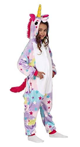 FIESTAS GUIRCA S.L. 83719 Disfraz 7-9 Unicornio Pijama, Juventud Unisex, Multicolor, de 7 a 9 años