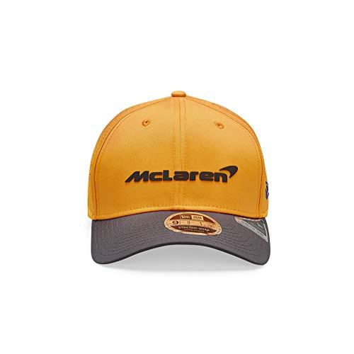 McLaren - Offizielle Formel 1 Merchandise 2020 Kollektion - Lando Norris Cap 9Fifty - Team Logo - Herren - Orange - M/L