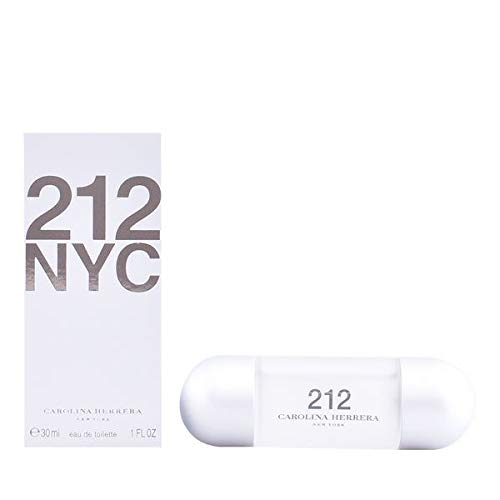 Perfume Mujer 212 Nyc For Her Carolina Herrera EDT (30 ml) Perfume Original | Perfume de Mujer | Colonias y Fragancias de Mujer