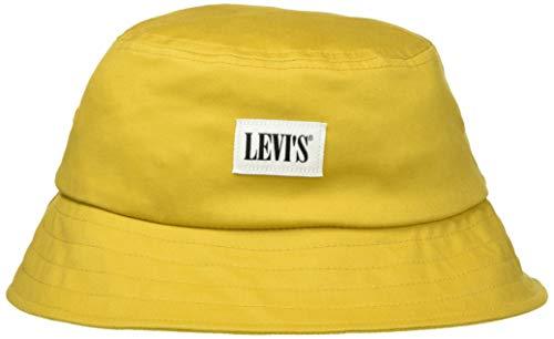 Levi's LEVIS FOOTWEAR AND ACCESSORIES Unisex Serif Bucket Hat Ohrenschützer, Jaune,...