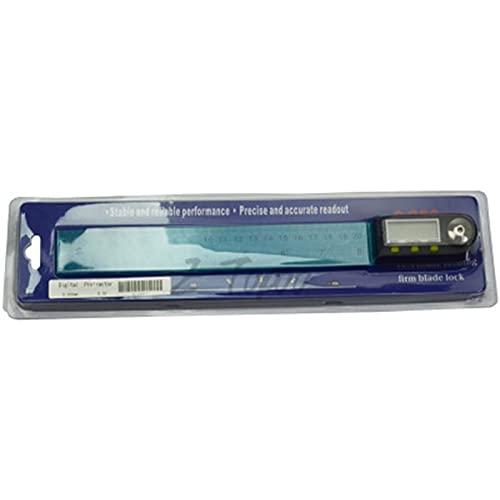 ZHYONG 200 mm Acero Inoxidable Digital Inclinómetro Electrónico Goniómetro Nivel de medición Ángulo Ruler Protractor Inclinómetro Medidor de ángulo Nuevos Accesorios para Equipos de medición