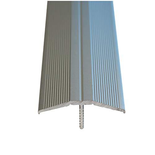 Praktikus 5102228 33x12mm Übergangsprofil Clip-System, Silber