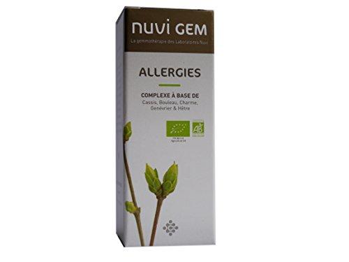 Nuvi Laboratoires - Allergie - Complexe Gemmothérapie 30 Ml