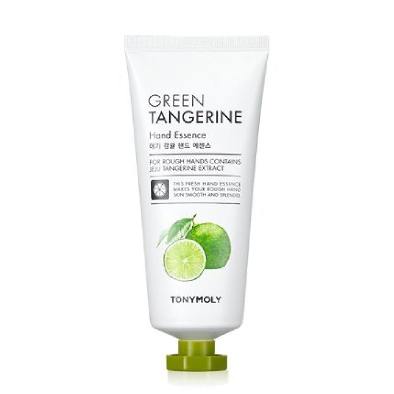 他のバンドでエージェント見積り[Renewal] TONYMOLY Green Tangerine Hand Essence/トニーモリー 青みかん ハンド エッセンス 80g [並行輸入品]