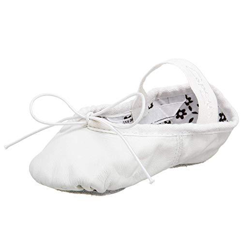 Capezio 205 Daisy Leder Ballettschuh, Weiß - weiß - Größe: 40 EU