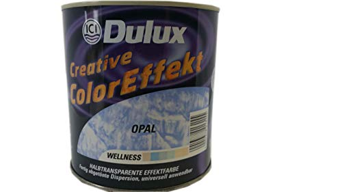 Dulux Creative Color Effekt, Halbtransparente Effektfarbe, Farbton Opal / 1 Liter
