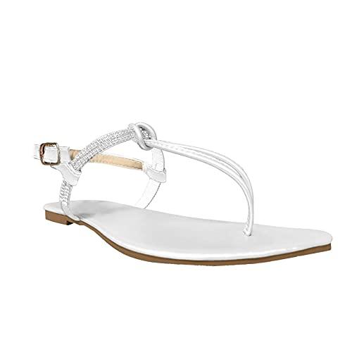 Tongs Escarpins Sandales Shoe été Talon Compensé Pas Cher Chaussures de Marche Femme Mesh Fashion Perennial Seasonal Basic Femmes Chaussures Plates Oxfords et Derbies(Blanc,38)
