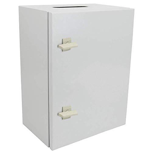 BeMatik - Caja de distribución eléctrica metálica con protección IP65 para fijación a Pared 700x500x200mm