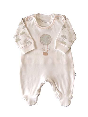 Ebi & Ebi baby stramperset wit bio maat 44
