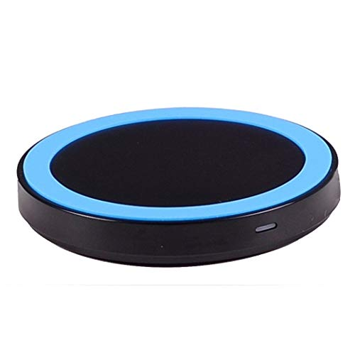 BOSLISA Fast Qi Wireless Charger Pad Compatible iPhone Xs MAX/XR/XS/X/8/8 Plus Samsung Galaxy S9/8/7/Note 8/9 and Qi-Enabled Phones