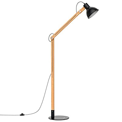 Tomons Wood Floor Lamp FL1001