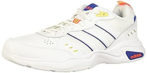adidas Strutter, Zapatillas Deportivas Hombre, FTWR White/FTWR White/Shock Yellow, 41 1/3 EU