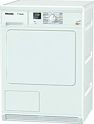 Miele TDA140 C Freestanding Condenser Tumble Dryer, 7Kg Load, White