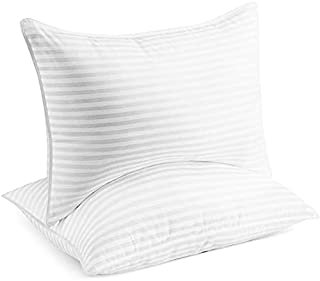 Beckham Hotel Collection Bed Pillows for Sleeping - Queen Size, Set of 2 - Cooling, Luxury Gel Pillow for Back, Stomach or...