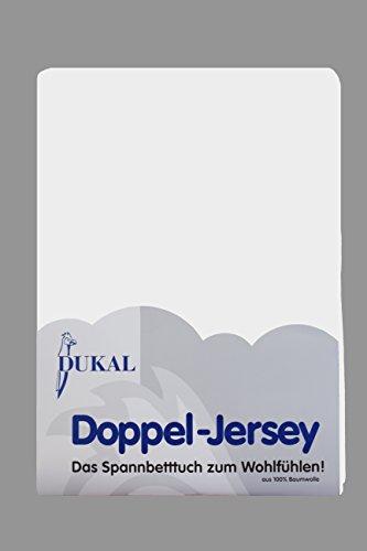 Dukal, Ovales Spannbettlaken für Kinderwagen, wiegen & Beistellbetten. Maße: 32 x 78 – 36 x 80 cm, Doppel-Jersey (100% Baumwolle), Farbe: Weiss