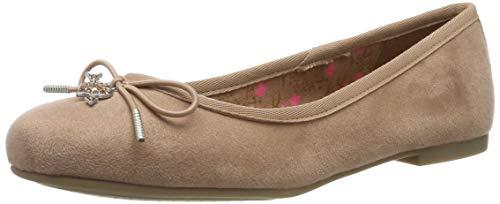 Tamaris Damen 1-1-22121-23 517 Geschlossene Ballerinas, Pink (OLD ROSE 517), 40 EU