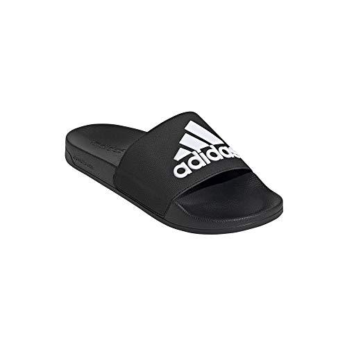 Adidas Trefoil Adiletten Chanclas, color Negro, talla 38 EU