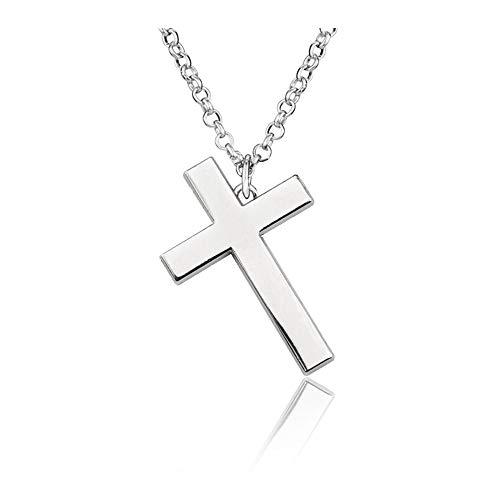 OfficialOtaku RWBY Uncle Qrow Branwen Cross Cosplay Pendant Chain Necklace - Silver
