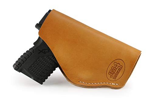 JM4 Tactical Magnetic Concealed Holster | Tan Left Hand Large Roughneck | Fits Firearms Such as Shield 9, 40 & 45 | XDS 9, 40 & 45 | FNS 9 Compact | PT 111 & Many More