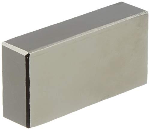 first4magnets F402010-1 40 x 20 x 10 mm con texto en inglés N42 imán de neodimio con 21,7 kg tirador