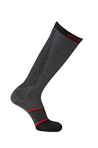 Bauer Hockey Pro Cut Resistant Skate Socks (Large) Charcoal