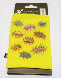 Y-Fumble Armband-Tasche Handy/MP3-Player Halter–Boom. Small gelb