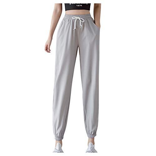 Affordable Dainzusyful Women's Stretch Jogger Pant Drawstring Waist Breathable Long Workout Yoga Act...