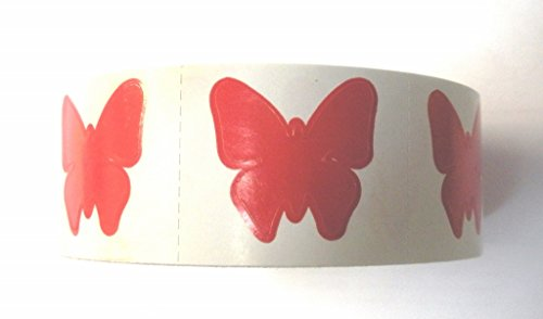 Tanning Bed Stickers Butterfly 1000 CT by Butterfly Stickers