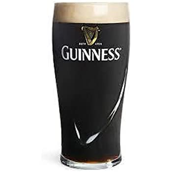 Personalised Engraved 1 Pint Guinness Beer Glass With Gift Box