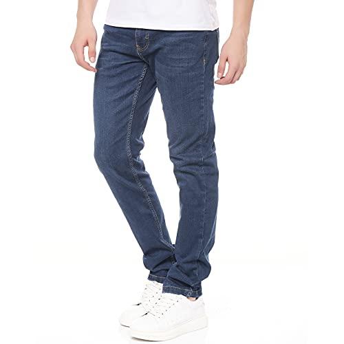 Smith & Solo Jeans Herren - Slim Fit Jeanshose,...