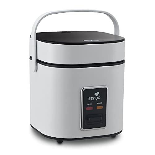 Senya Cuociriso 2L Rice Perfect, cottura a vapore, mantenimento al caldo, spegnimento automatico, pentola bianca, 400 W SYCK-RC004