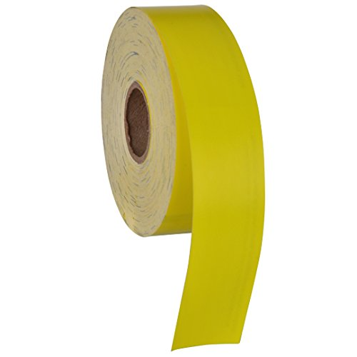 Printable Pet Collars Compatible with Various Printers and Software (Yellow)